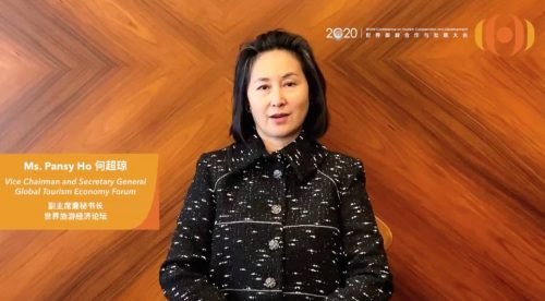 Pansy Ho Provides Recovery Recommendations for the Global Tourism Industry - TRAVELINDEX
