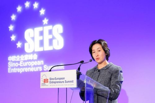 Secretary-General of GTEF, Pansy Ho Gives Keynote at 2020 Sino-European Entrepreneurs Summit - PANSY HO - TRAVELINDEX