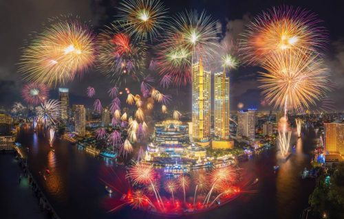 Amazing Thailand Countdown 2021 Proceeds with Spectacular Firework