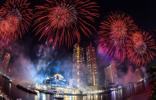 ICONSIAM Bangkok Rings in New Year with Most Dramatic Eco-Friendly Firework