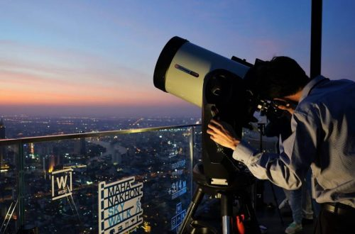 Thai Astronomical Society at Bangkok's Highest Rooftop for Great Conjunction 2020